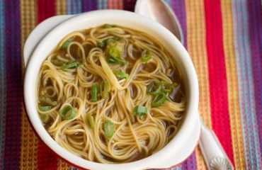 Quick & Easy Chinese Noodle Soup