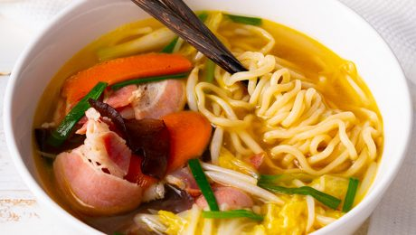 JAPANESE TANMEN BACON NOODLE SOUP 1