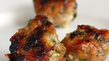 vietnamese chicken meatballs 1